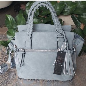 Violet Ray braided handle purse 👜 (NWT!)